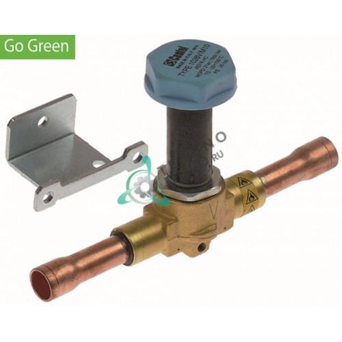 Корпус клапана Castel Go Green NC 1028V/M10S подключение M18x1,5 (трубка-ø 12 мм)