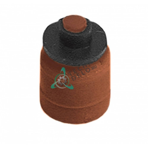 Переходник Elbi клапана Eaton (Invensys) расход 5,5л/мин коричневый 0W2908 для стиральной машины ZANUSSI CLB161E и др.