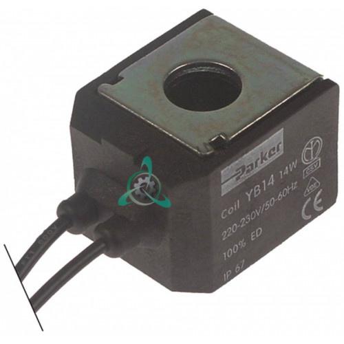 Катушка электромагнитная Parker 14Вт, 0H9317, 0KD791 льдогенератора Electrolux, Scotsman, Zanussi и др.