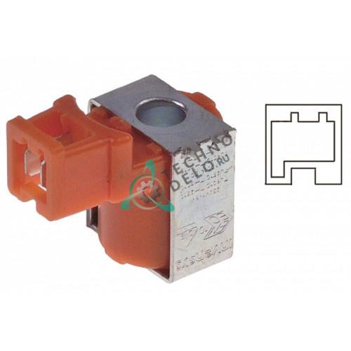 Катушка электромагнитная Eaton (Invensys) 230VAC 6W ø9мм кодированный штекер
