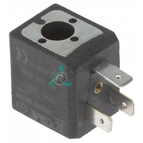 Катушка электромагнитная CEME тип 1W7 230V H30мм D10мм для GBG, Sencotel, Staff Ice System и др.
