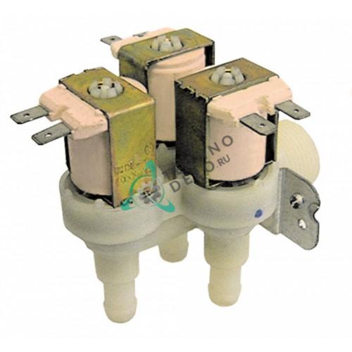 Клапан электромагнитный Eaton (Invensys) тройной 230VAC 3/4 d11.5мм