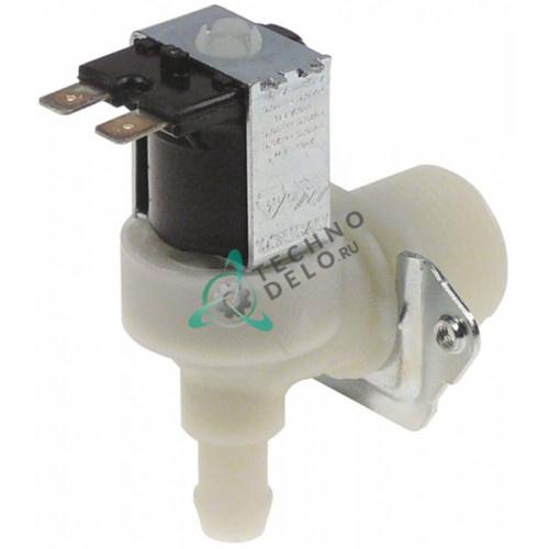 Клапан электромагнитный Eaton (Invensys) одинарный угловой 230VAC 3/4 d-11.5мм 10 л/мин 056350 0C0688 для Electrolux