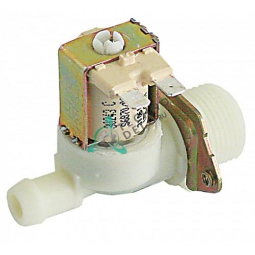 Клапан электромагнитный Eaton (Invensys) одинарный 230VAC 3/4 d-14мм 15 л/мин 90°C 0113202 для Meiko DV120T, DV40N и др.