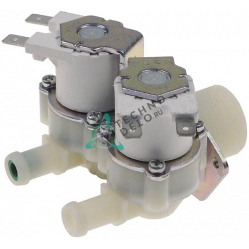 Клапан электромагнитный двойной RPE 230VAC 3/4 d11.5мм CR0586050R для Mareno, Silko и др.