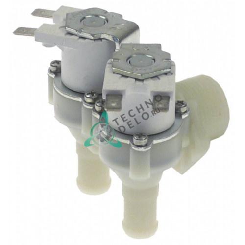 Клапан электромагнитный двойной RPE 24VAC 3/4 d14.5мм DW2000094 для Dihr, Kromo и др.