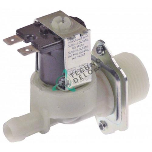 Клапан электромагнитный одинарный Invensys 230VAC 3/4 d11.5мм 480043 775742 для Hobart