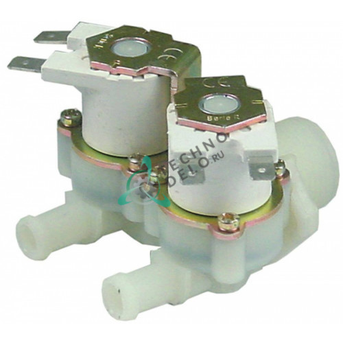 Клапан электромагнитный двойной RPE 230VAC 3/4 d10мм C2087 для Inoxtrend, Piron и др.