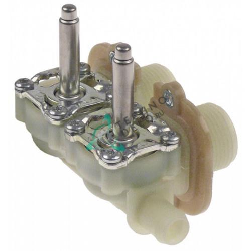 Корпус клапана Muller двойной вход 3/4 выход d14.5мм DN10 0113127 для Meiko и др.
