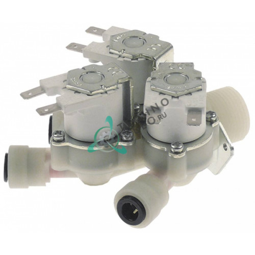 Клапан электромагнитный тройной RPE EL1150A0 KEL1165A для Unox XB803/G, XG813, XV1003G