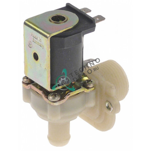 Клапан электромагнитный одинарный Muller 230VAC 3/4 d15мм 3106038 для Winterhalter