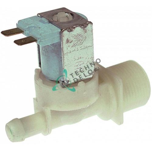 Клапан электромагнитный Elbi одинарный 230VAC 3/4 выход d-11.5мм 3032680 для печи Angelo-Po BX101E, BX122E и др.