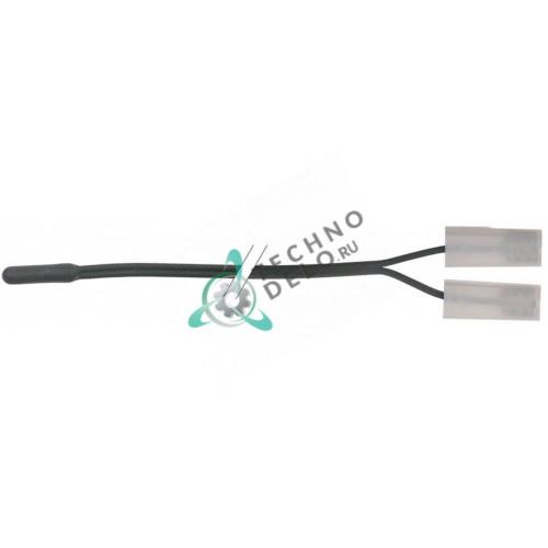 Датчик температурный NTC 100 ком ø5x20мм кабель TPE L-0,9м для печи Inoxtrend, Whirlpool