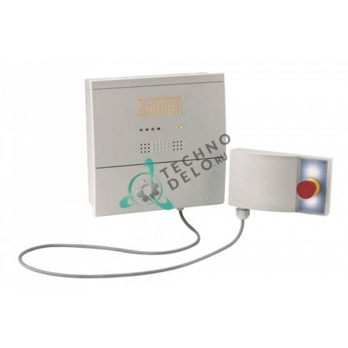 Сигнализатор AKO-52064 RS485 230VAC IP65 EN3781 с аварийной кнопкой