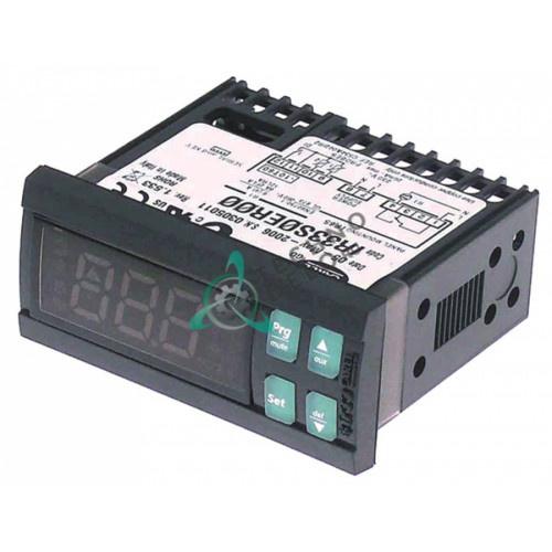Контроллер CAREL IR33S0ER00 IR/RS-485 71x29x56,5мм 240VAC датчик NTC -50 до +90°C для холодильного оборудования