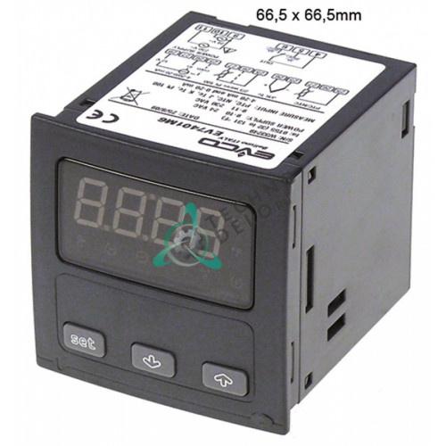 Контроллер EVCO EV7401 (24/230 VAC) датчик NTC/PTC/Pt100/TC IP54 807302 6011130 для печи Giorik и др.