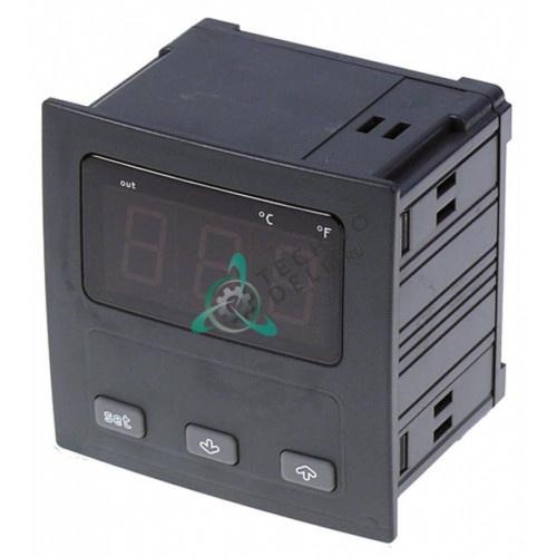 Контроллер EVCO EV9411C6 92x92x78мм 24/230 VAC датчик Pt100 1 реле диапазон измерений -99 до +650°C