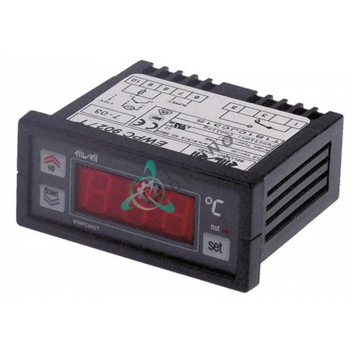 Контроллер Eliwell EWPC902T 71x29мм 12VAC/VDC датчик TC/J реле компрессора 8A 12016682 12017189 R743003 для Fagor
