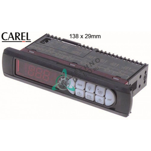 Контроллер CAREL PBMEH0HB111 138,5x29x75мм 115-230VAC датчик NTC/PTC IP54 41103006 для оборудования Mercatus