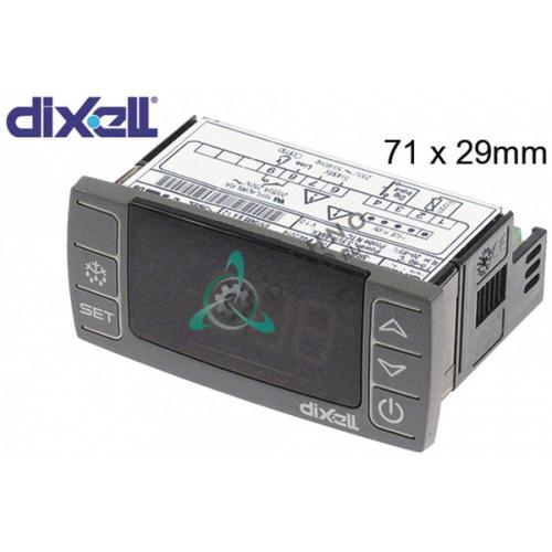 Контроллер Dixell XR02CX-5N0C1 71x29x56мм 230VAC NTC 005050168 E20A111C4D00 для Gamko, Horeca Select, Izmak и др.