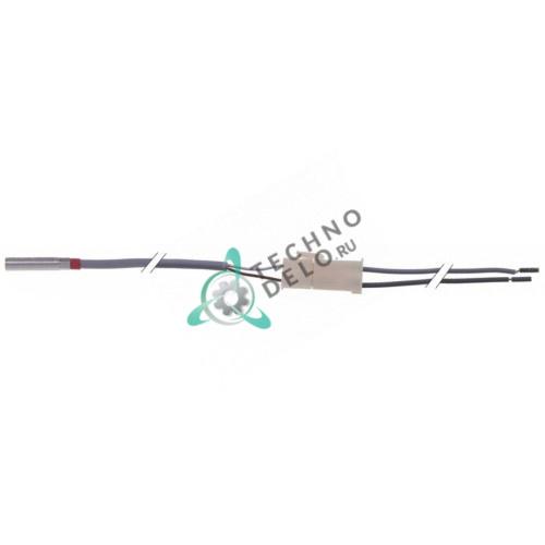 Датчик температурный PTC 1ком ø7x32мм кабель силикон L-0,5м 9544007 для Meiko FV40.2M-MIKE2 и др.