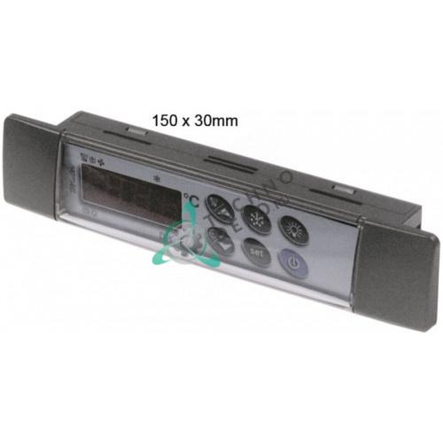Контроллер Dixell T640 150x30x23мм X0M7VZEZC900-S00 для профессионального холодильного оборудования HoReCa