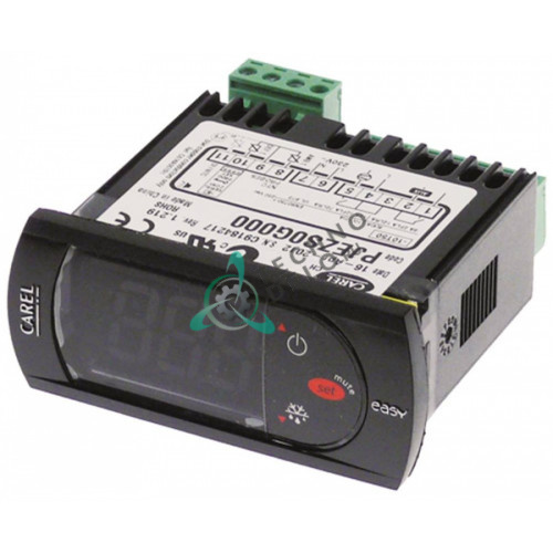 Контроллер CAREL PJEZS0G000 71x29x69мм 230VAC датчик NTC -50 до +90 °C IP54 для холодильного оборудования