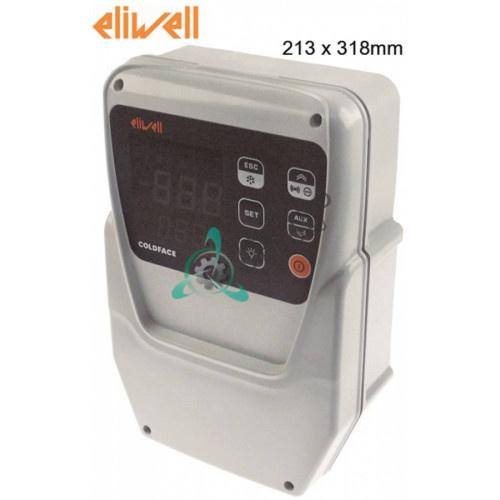 Контроллер Eliwell EWRC 500 NT 2HP RCS3UDLX20700 210x245мм 230VAC датчик NTC (PTC регулир.) 5 реле
