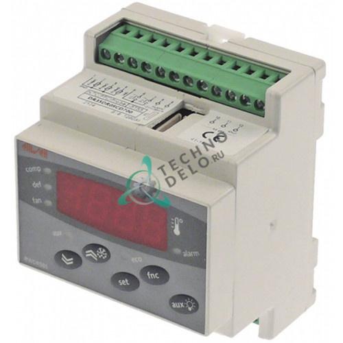 Контроллер Eliwell EWDR983/CSLX DR38CF0SCD700 RS485 70x85мм 230VAC датчик NTC/PTC 2 реле диапазон измерений -55 до +150°C