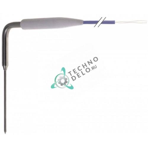 Термощуп PTC 1ком -50 до +150 °C ø4x100мм AISI 316 кабель PVC L-5м для шоковой заморозки Ilsa и др.