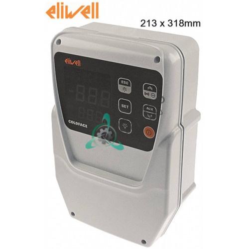 Контроллер Eliwell EWRC 500 NT 2HP RCS3UDTX2J702 213x318мм 230VAC 5 реле выходы NTC/PTC/DI диапазон -55 до +150 °C
