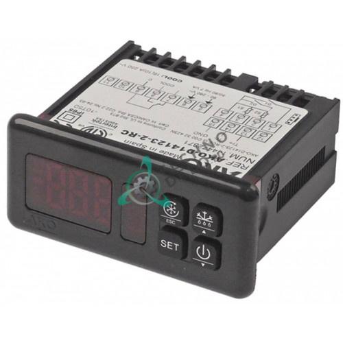 Контроллер AKO D14123-2-RC 71x29мм 90-240VAC датчик NTC/PTC