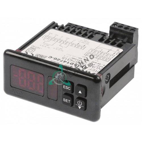 Контроллер AKO D14726-C RS485 71x29мм 90-240VAC датчик NTC/PTC/Pt100/TC(J,K)/мA IP65