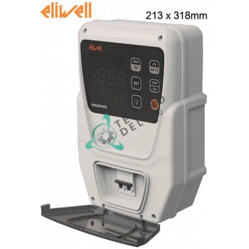 Контроллер Eliwell EWRC 500 NT 2HP RTC HACCP 4D W/B 213x318мм 230VAC датчик NTC/PTC для холодильной камеры и др.