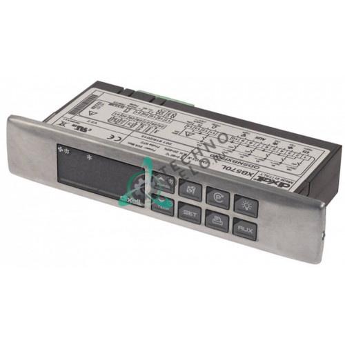 Контроллер Dixell XB570L-5N1C1-X RS485 150x30x65,5мм 230VAC датчик NTC/PTC 6 выходов реле для холодильной камеры