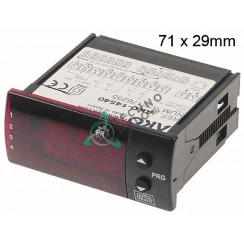 Контроллер AKO-14540 71x29мм 12VAC NTC/4-20 мА