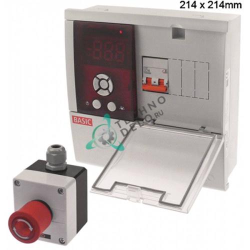 Контроллер AKO-15646 214x214мм 230VAC NTC 2P-16A для холодильной камеры