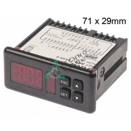 Контроллер AKO-14545-C 71x29мм 12VAC датчик NTC/4-20мА