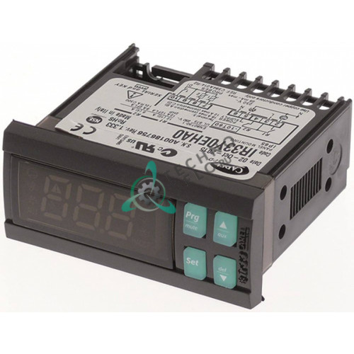 Контроллер CAREL IR33Y0EHA0 71x29x70,5 мм 230 VAC датчик NTC -50 до +99°C IP65 для холодильного оборудования