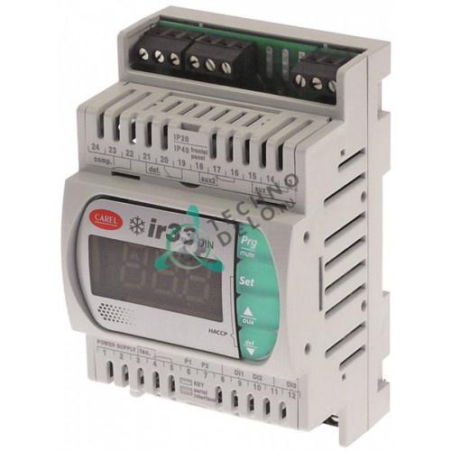Контроллер CAREL DN33C0HB00 ir33din RS485 IR/RS-485 115-230VAC датчик NTC -50 до +99°C для холодильного оборудования