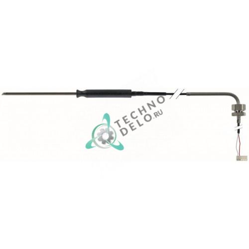 Термощуп Pt100 ø4x100мм кабель PTFE L-1,8м резьба 1/4 10013516 для пароконвектомата MKN