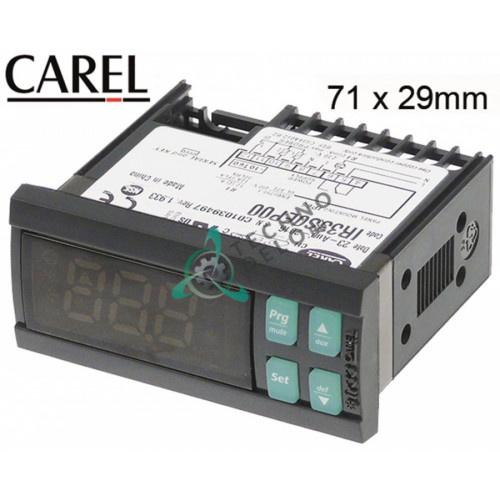 Контроллер CAREL IR33S0EP00 71x29x57мм 230VAC датчик NTC IP65 для управления охлаждаемыми прилавками и витринами