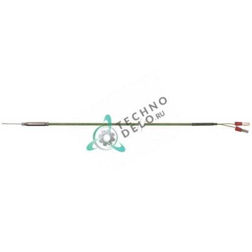 Датчик температурный K (NiCr-Ni) ø1x30мм кабель силикон L-1,2м E0433 / E316003 для Eloma MD1011 и др.
