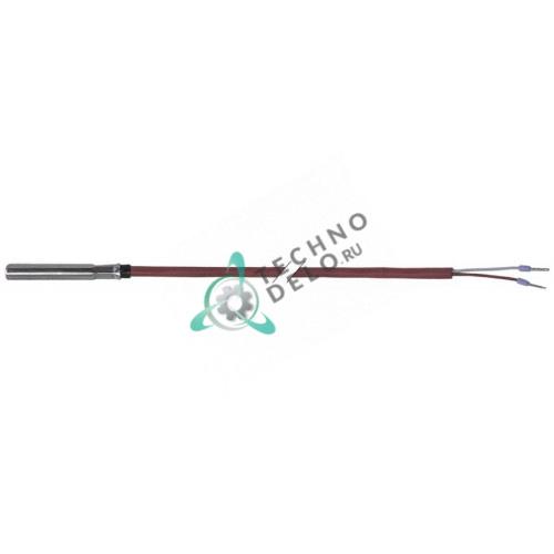 Датчик температурный PTC 1ком ø6x35мм кабель силикон L-2,2м 0180683 / 9500236 для Meiko DV120T и др.