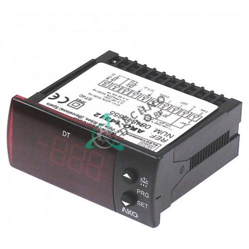 Контроллер AKO-14312A 71x29мм -50 до +99°C 12VAC/VDC датчик NTC