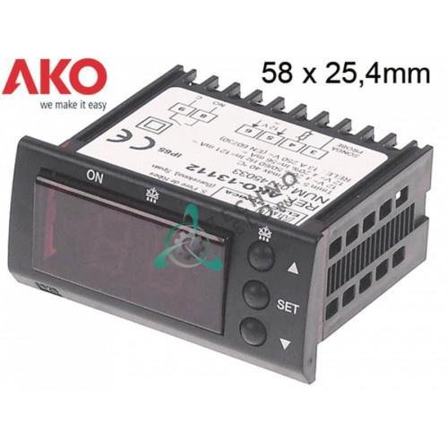 Контроллер AKO 13112 58x25,4мм 12VAC/VDC -50 до +99 °C датчик NTC