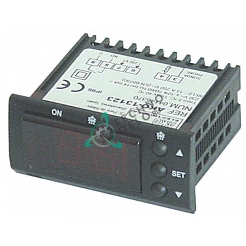 Контроллер AKO 13123 58x25,4мм 230VAC -50 до +99°C датчик NTC