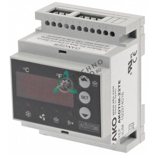 Контроллер AKOTIM-22TE -50 до +99°C 90x70x58мм 230VAC датчик NTC