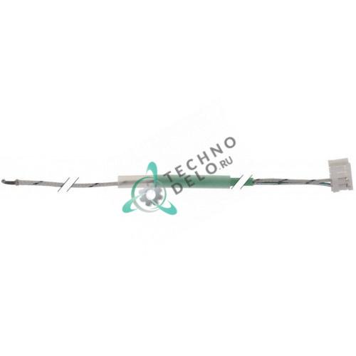 Датчик температурный ø2x125мм K (NiCr-Ni) кабель L-1,5м 40.00.291 4000291 для печи Rational CM101 и др.
