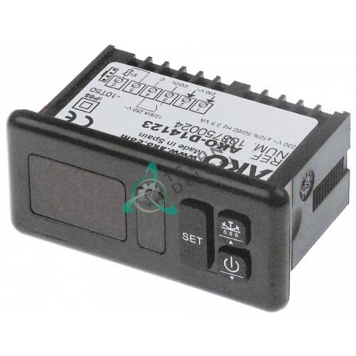 Контроллер AKO D14123 71x29 230VAC NTC/PTC SA06030 для Roller Grill RD60FI/SB 40FB/VF 550/VT 550 и др.